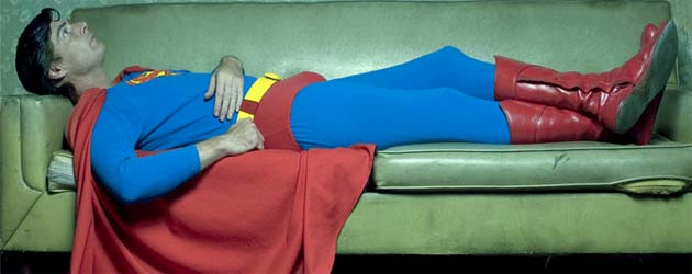 superman descansando